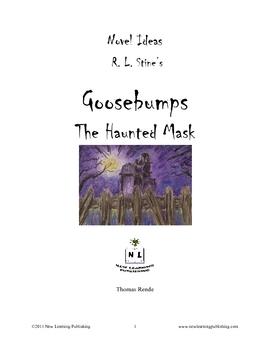 Novel Ideas - R.L. Stine's Goosebumps The Haunted Mask