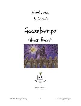 Novel Ideas - R.L.Stine's Goosebumps Ghost Beach
