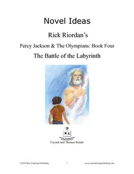 Novel Ideas - Rick Riordan's Percy J. & the Oly. The ... the Labyrinth