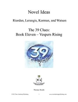 Novel Ideas - The 39 Clues book 11