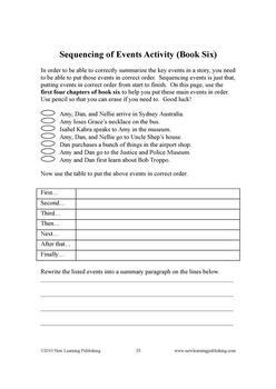 Novel Ideas - The 39 Clues books 5 and 6