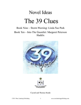 Novel Ideas - The 39 Clues books 9 and 10