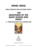 Novel Ideas: The Adventures of the Bailey School Kids #2