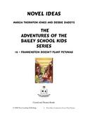 Novel Ideas: The Adventures of the Bailey School Kids #6