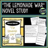 """Novel Ideas:  """"The Lemonade War"""" Common Core Aligned Novel Unit"""