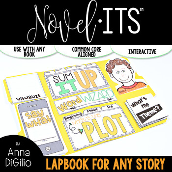 Novel-Its™ Lapbook {Use with ANY BOOK}