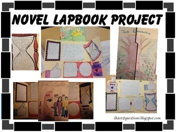Novel LapBook Project #Californiadreaming