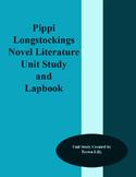 Pippi Longstockings Novel Literature Unit Study and Lapbook