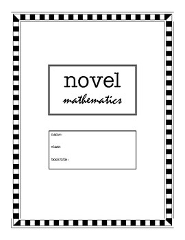 Novel Mathematics (Differentiated Novel Study for Any Novel)