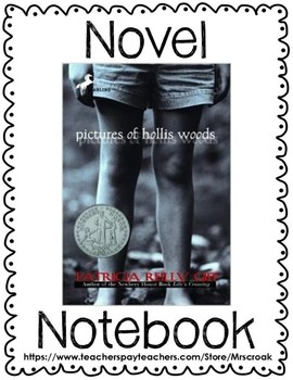 Novel Notebook: Pictures of Hollis Woods by Patricia Reilly Giff