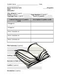 Novel Overview Form