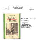 Novel Packet (Breaking Through by Francisco Jimenez)