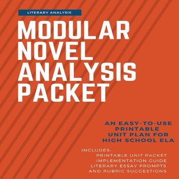 One-Stop Novel Packet: A Modular Unit Plan for Literary Analysis