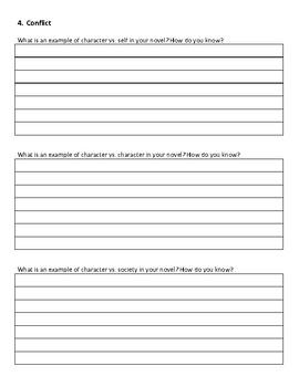 Novel Plot Line Project