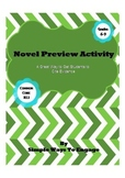Novel Preview Activity