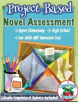 Novel Project Based Assessment for ANY book! {Common Core Aligned}