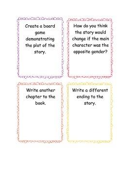 Novel Project Ideas