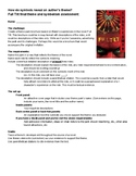 Novel Project: Symbolism and theme in Full Tilt by Neal Sh