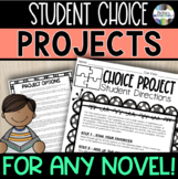 Student Choice Novel Questions - Great Project for ANY Novel!
