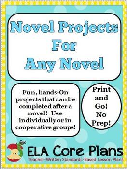 Novel Projects ~ Ideas For ANY Novel