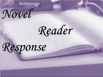 Novel Reader Response