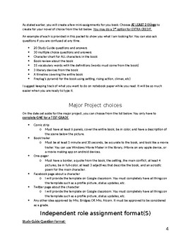 Novel Research Project