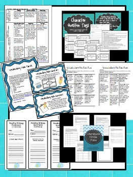 Novel Resource Bundle - Great for summer reading activities!