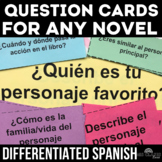 Novel Resources: Question Cards - for any novel in Spanish class