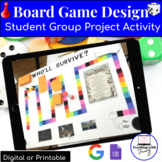Novel Review Games- Hands-on Board Game Activity