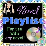 Novel Soundtrack Assignment - Great for End of Year!