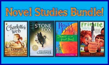 Novel Studies Bundle (6 Great Novel Studies!)