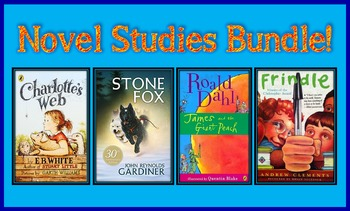 Novel Studies Bundle (6 Great Novel Studies!)