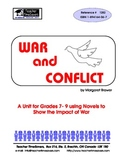 Novel Studies Collection for War and Conflict