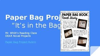 Novel Studies - Paper Bag Project - Freak the Mighty