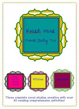 Novel Studies- Roald Dahl Trio! Excellent Value