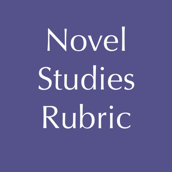 Novel Studies Rubric Continuum