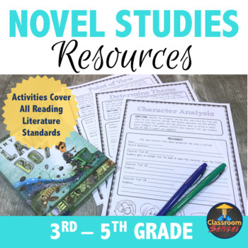 Novel Studies and Guided Reading Resources for Common Core