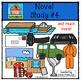 Novel Study #4 {P4Clips Trioriginals Digital Clip Art}