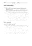 Novel Study - 9 Final Projects with MIs, Rubric, and Post-
