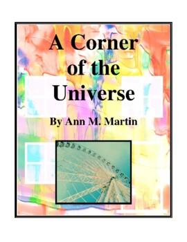 Novel Study, A Corner of the Universe (by Ann M. Martin) S