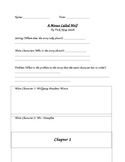 Novel Study - A Mouse Called Wolf - Chapter by Chapter Novel Study