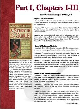 Novel Study: A Study in Scarlet by Arthur Conan Doyle
