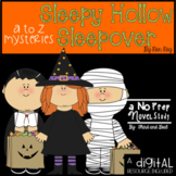 A to Z Mysteries Sleepy Hollow Sleepover