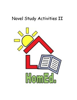 Novel Study Activities II (Beginner to Early Intermediate Levels)