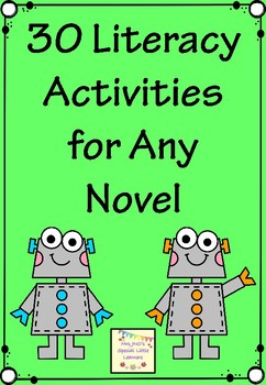 Novel Study Activities for Any Book