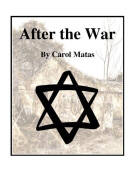 Novel Study, After the War (by Carol Matas) Study Guide