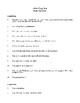 Novel Study, All the King's Men (by Robert Penn Warren) Study Guide