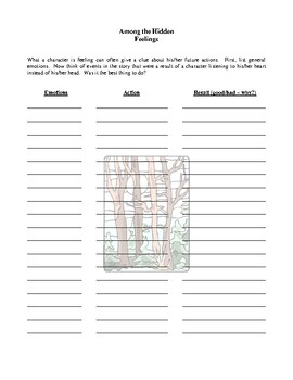 Novel Study, Among the Hidden (by Margaret Peterson Haddix) Study Guide