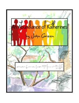 Novel Study, An Abundance of Katherines (by John Green) St