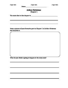 Novel Study - Arthur Christmas - Chapter 1